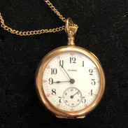 Illinois Pendant Watch - works