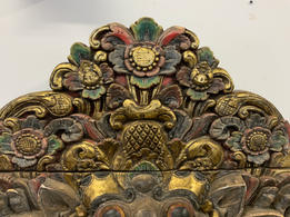 Large Tibetan? hand carved sculpture