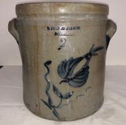 2 Gal Stoneware crock