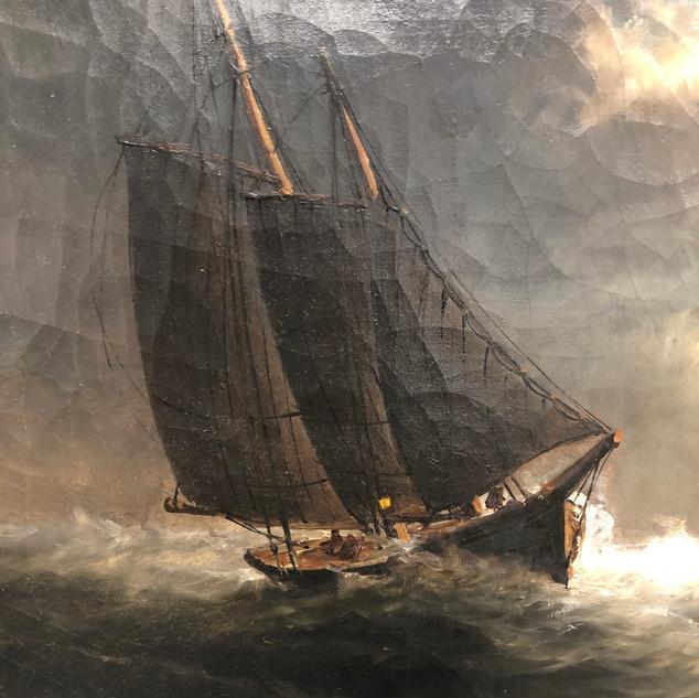 Ernest Baker Painting