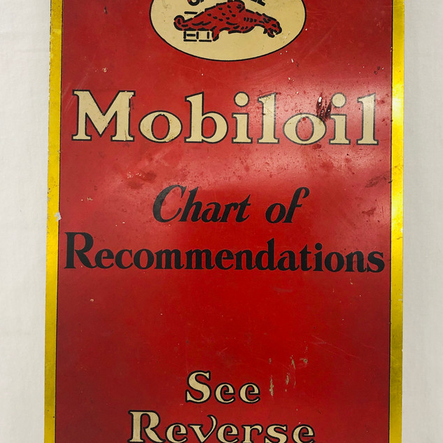 Super Rare Mobiloil Chart of Recommendations