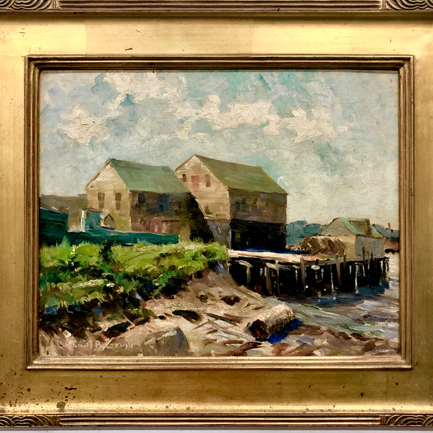 Signed Emile Gruppe Oil Painting