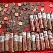 Over 1000 unsearched wheat pennies