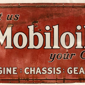 Another 3x5 Mobiloil sign