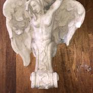 Plaster Angel sconce