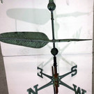Early Feather Pen Weathervane