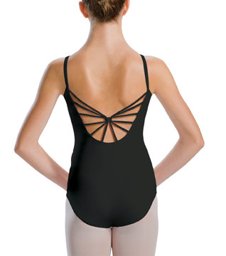 MotionWear Girls Camisole Leotard w-6 Back Straps