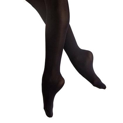 Bloch Footed Tights Black