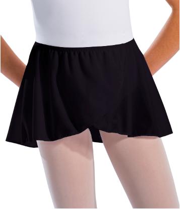 Motionwear Black Ballet Skirt