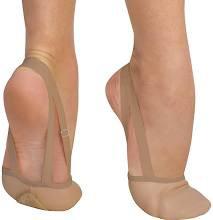 """Body Wrappers """"Twyla II"""" Leather Half Sole Slipper"""