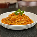 Italian Spaghetti with marinara tomato sauce