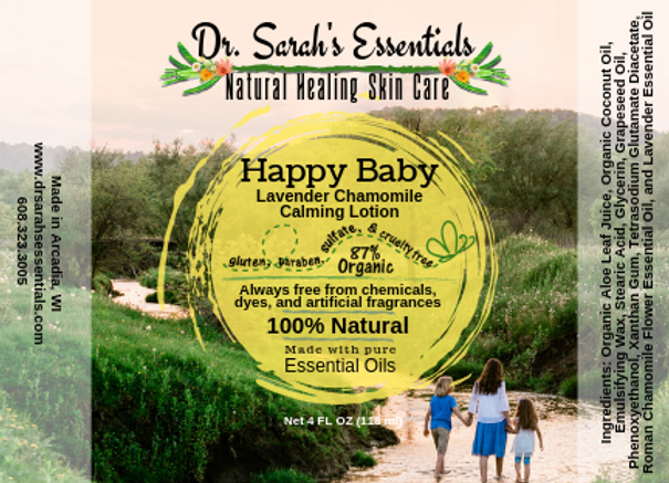 Happy Baby Lavender Chamomile Calming Lotion   website