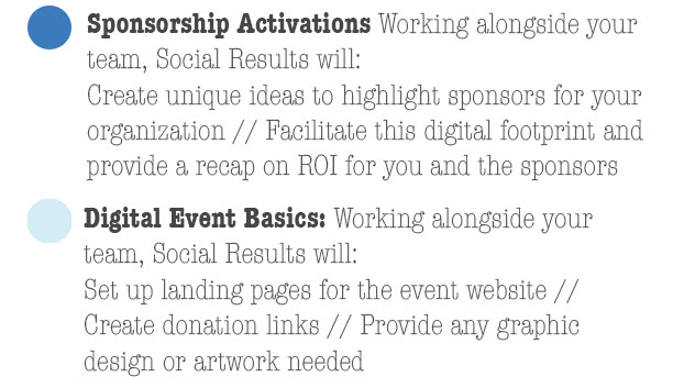 Sponsorships and Events