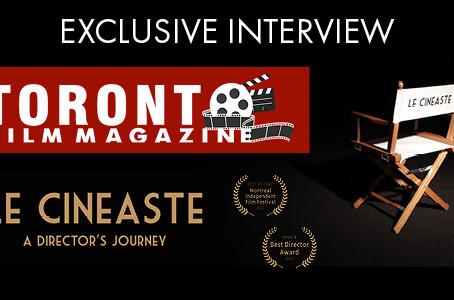 TORONTO FILM MAGAZINE INTERVIEW