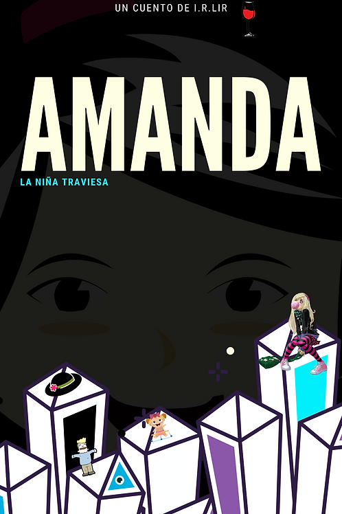 Amanda, la niña traviesa.