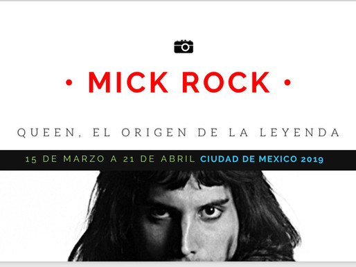 Mick Rock nos trae a QUEEN