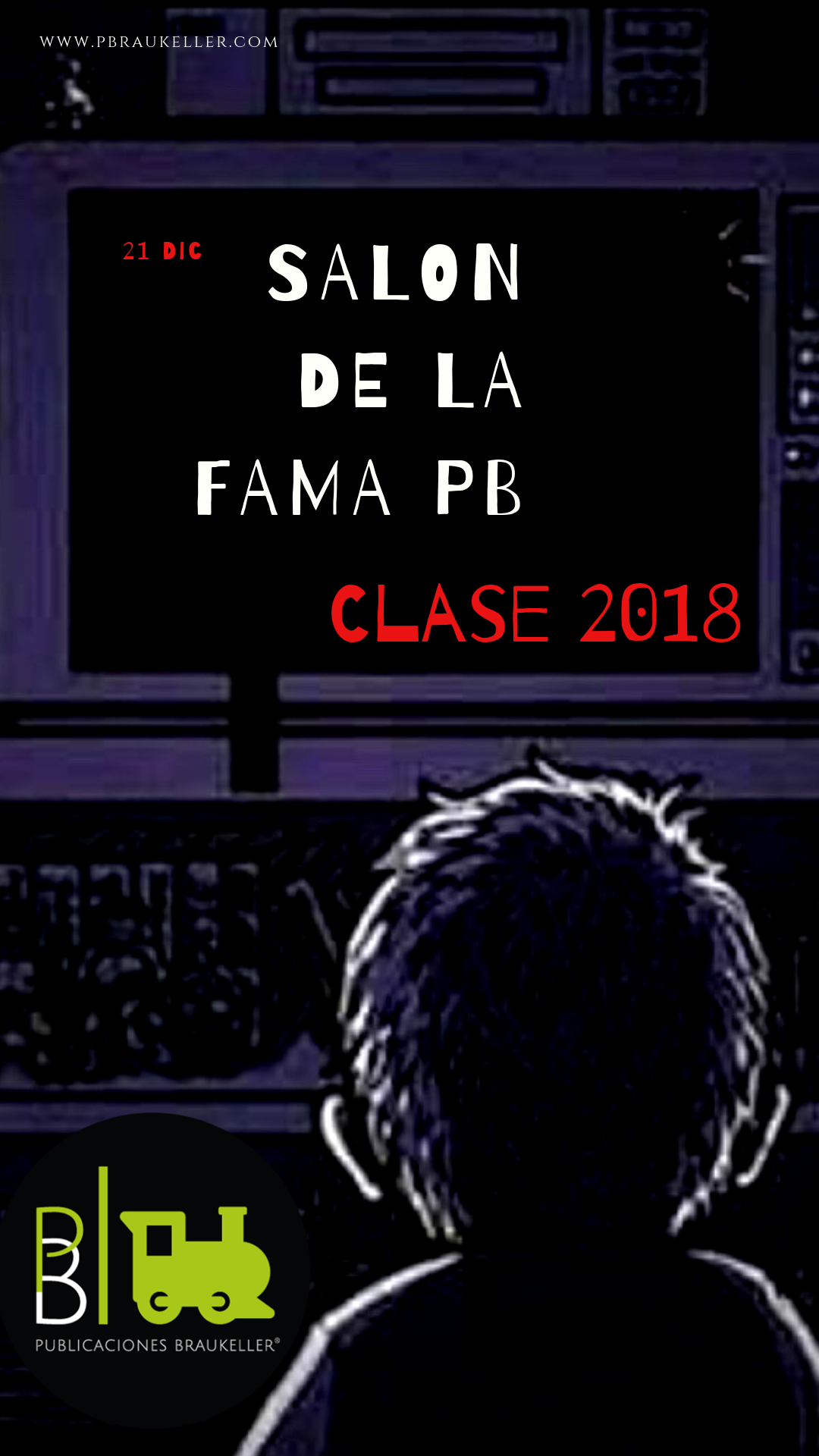 Salon de la fama PB clase 2018