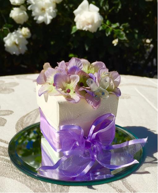 Flower Decor Box w/2 Truffles