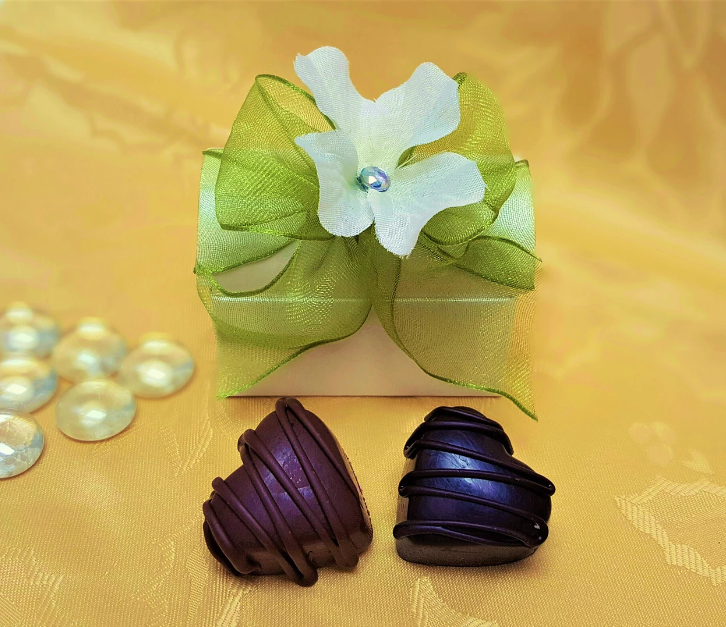 Treasure Chest Favor w/2 Truffles
