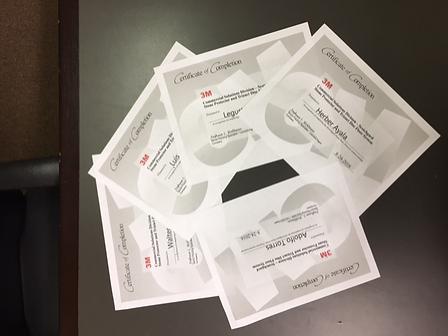 Stone Polishing Certificates 3-3-2017_ed
