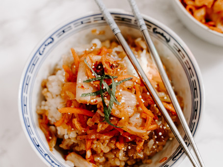 Recipe of the Week - Radish + Kimchi Relish