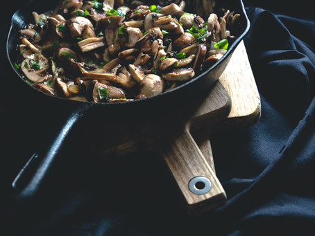 Easy Mushroom Teriyaki Sauce // Recipe of the Week