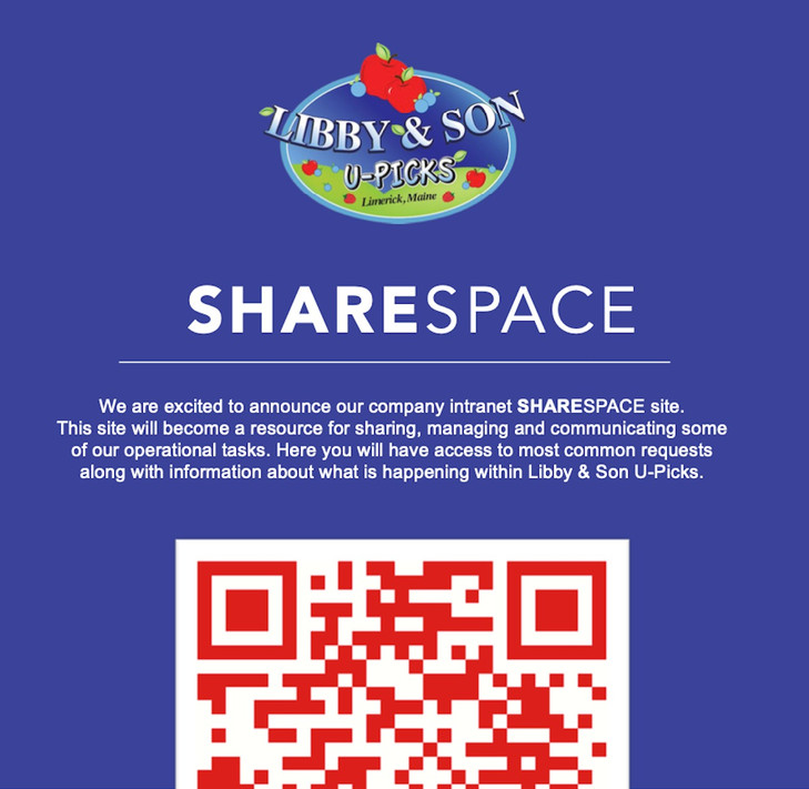 QR Code for Sharespace
