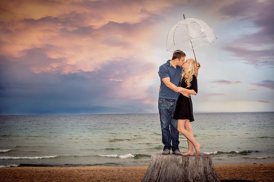 Megan & Ryan's Sand Harbor Engagement