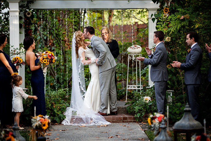 Crystal & Jon's Flower Garden Wedding