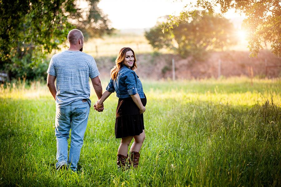 Garrett & Ashley's Gorgeous Lincoln, CA Maternity Session