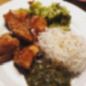 Ce parfait poulet teriyaki, vermicelles