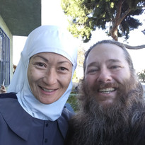 Sister Maria and Brother David
