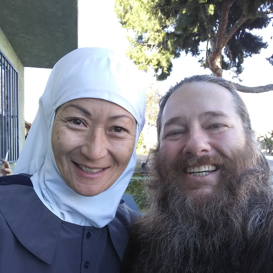 Sister Maria and Brother David