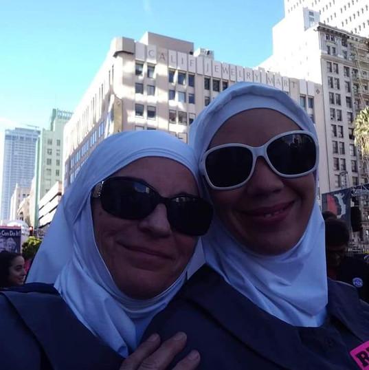Sister June and Sister Terra