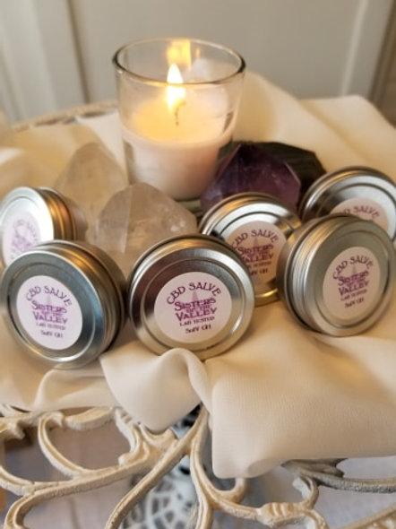 CBD Topical Lavender Salve (6 Tins, 1/2 oz. each)