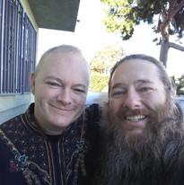 Brother Matt and Brother David