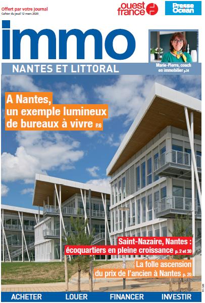 Article dans Ouest France Immo