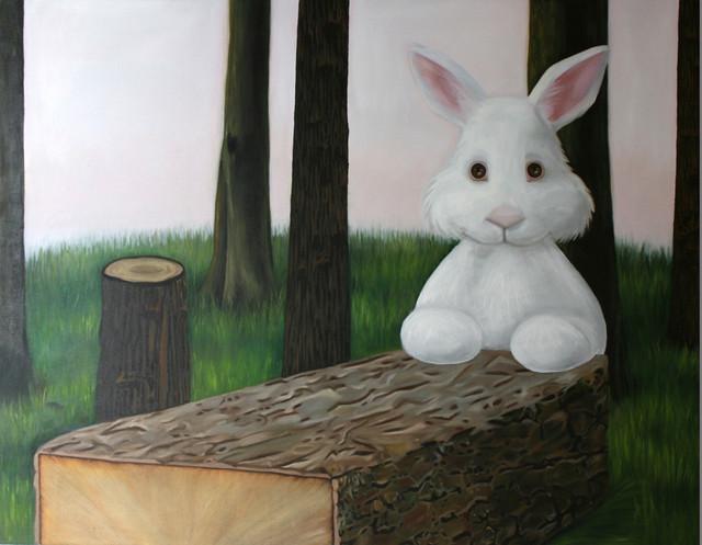 The desperate rabbit