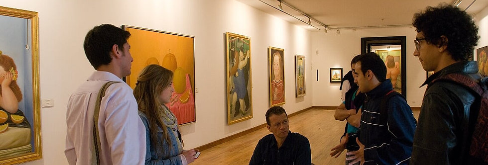 Bogotá Community OUTing: Art Gallery Experience