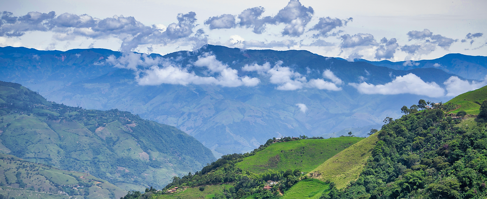 Beautiful Colombian landscape