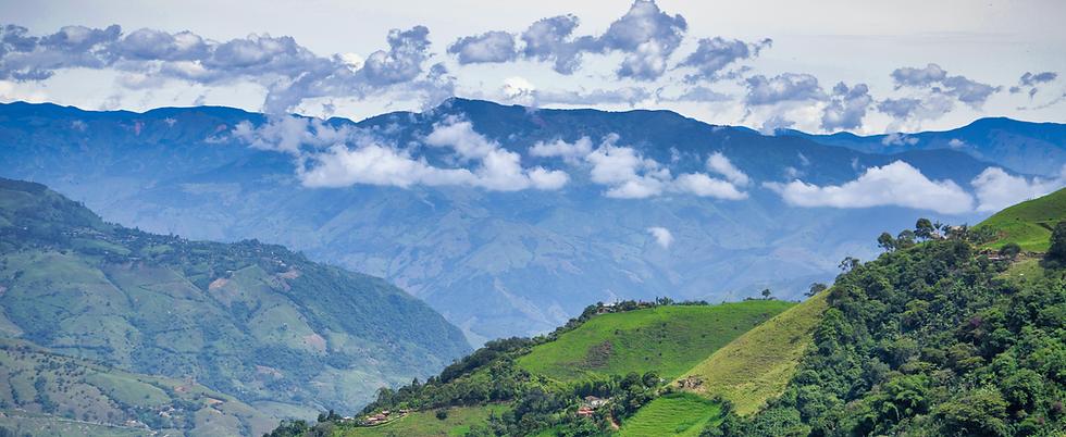 Beautiful Colombian landscape