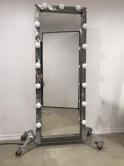 Premiere lighted full-length mirror