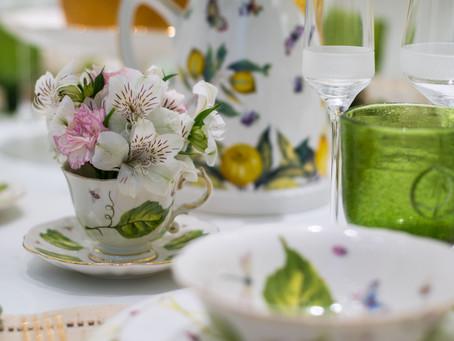Uma tarde sobre decoração de mesas com a Lu Figueiredo