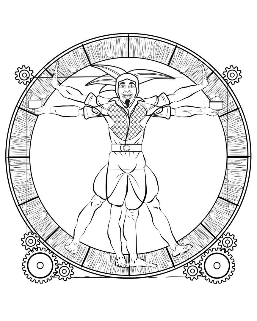 davinci wheel
