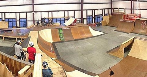 Who's coming to ride the new set up this week_! The new section is officially open! You've got to sh