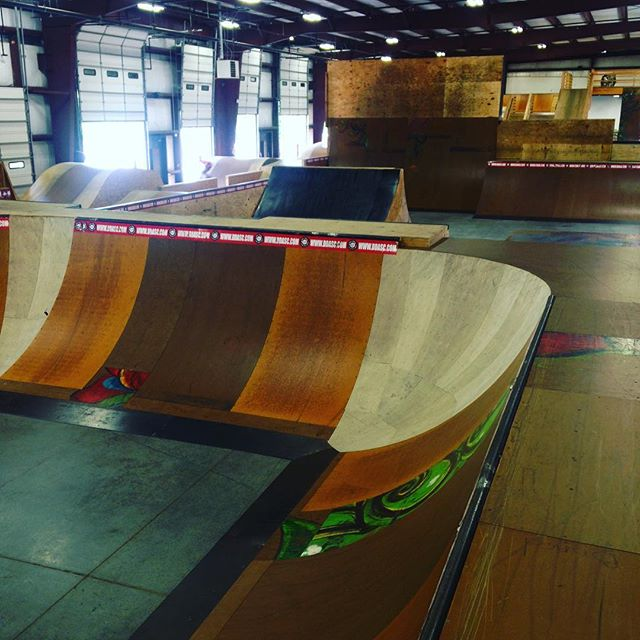 Today is a perfect day to ride at #ddasc so come and join us! #skatepark #ddasc #ramps #visitraleigh
