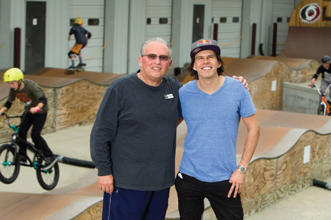Daniel Dhers Action Sports Complex, Daniel Dhers, Abel Zalcberg