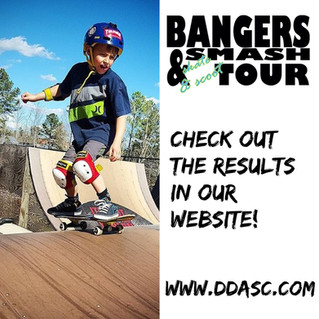 Bangers & Smash Tour 2017 Overall Results After Stop #2