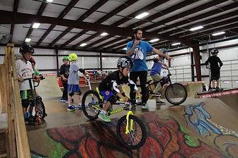 ramp camp picture, private bmx instruction