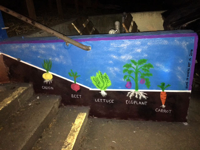 Compost Mural